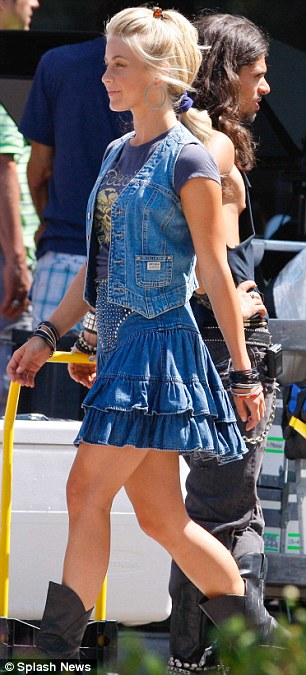 Julianne Hough Hair Rock Of Ages
